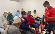 """Capacitación a los servidores municipales con el tema """"Primeros Auxilios - Uso y Manejo de Extintores"""""""